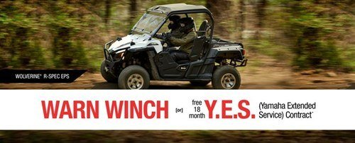 Yamaha - Current Offers - Recreation Side-By-Side - WARN or Y.E.S.